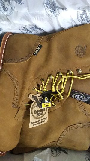Georgia boots steel toe size 9.5 for Sale in Pittsburgh, PA