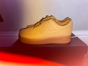 All brown air force 1s Size 8 for Sale in Clovis, CA