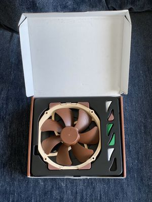 Noctua NF-A15 140mm Fan (Brown) brand new (never used) for Sale in Coronado, CA