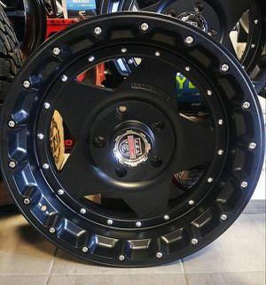 "Brand New 20"" Cline R1 20X10 5x150 Toyota Tundra Black Wheels for Sale in Miami, FL"