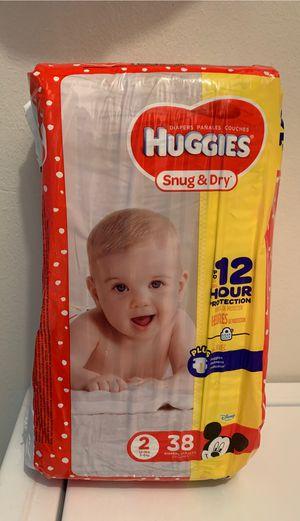 Huggies Diaper Size 2 for Sale in Tampa, FL