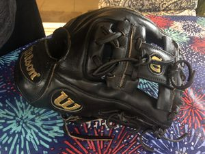 "Wilson A2000 1788 Baseball Softball Infielder Glove Pro-Stock Black 11.25"" RHT for Sale in Sunrise, FL"
