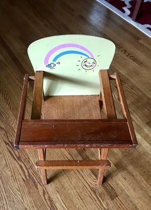 Baby doll high chair for Sale in Saint Paul, MN