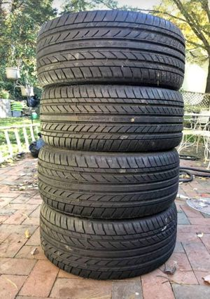 I sell a set of new tires 215 x 35r x 18 for Sale in Silver Spring, MD