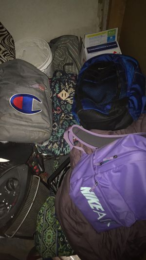 Backpack bundle! All come together for Sale in San Angelo, TX