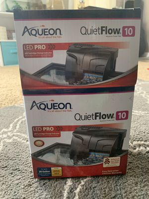 Aquarium filter - for up to 20 gallon tank for Sale in Ellwood City, PA