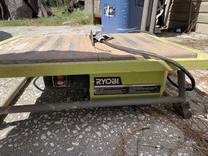 Ryobi wet saw for Sale in Spring Hill, FL
