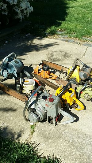 Chainsaws - lot of 7 for Sale in Rockville, MD