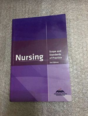 Nursing: Scope and Standards of Practice, 3rd Edition for Sale in City of Industry, CA