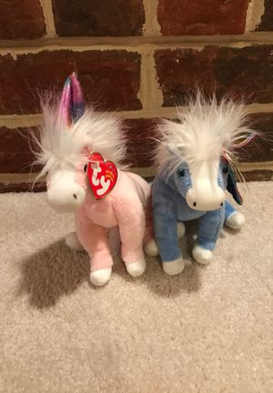 Unicorn Beanie Baby Pair for Sale in Great Falls, VA