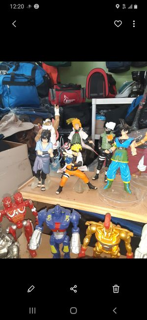 Naruto action figures for Sale in Los Angeles, CA