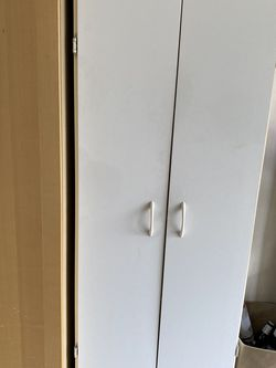 White Storage Cabinet for Sale in Redmond,  WA