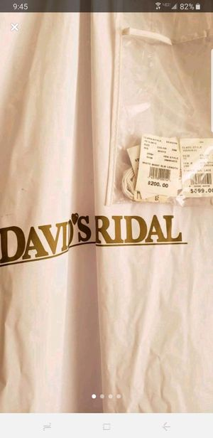 Read Description: David's Bridal Wedding Dress Offerup for Sale in Kissimmee, FL