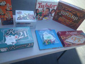 7 board games. for Sale in Rancho Santa Margarita, CA