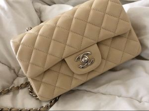 Chanel bag lambskin for Sale in Glendale, CA