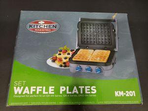 Set Waffle Plates. Kitchen Maestro for Sale in Miami, FL