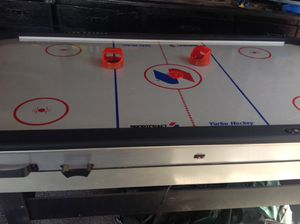 Air hockey and table tennis game for Sale in Las Vegas, NV