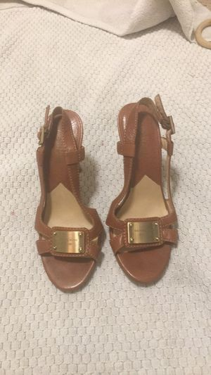 Michael Kors heels sandals size 5 for Sale in Richmond, CA
