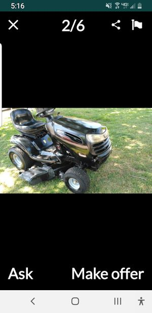 Trade riding lawn mower tractor for zero turn for Sale in Irving, TX