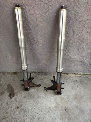 RR front forks shock suspension ser pair straight for Sale in Riverside, CA