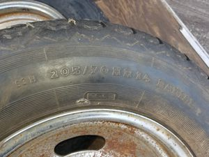 """14"""" trailer tires. 205/70HR 14 for Sale in Brewster, NY"""