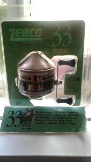 Zebco 33 fishing reel for Sale in Milwaukie, OR