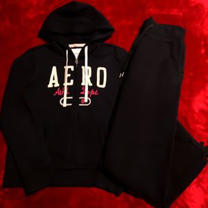 2-Piece Set Aeropostale Hoodie & Sweatpants H&M for Sale in Sloan, NV