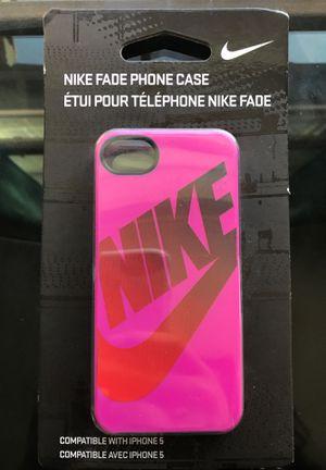 Nike Pink Fade iPhone 5 case for Sale in Chula Vista, CA