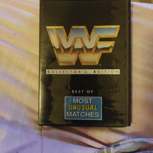 Wwf Collector's Edition Best Of Most unusual Matches Dvd for Sale in Chicago, IL