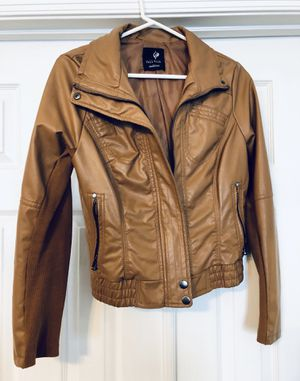 Full Tilt Women's Faux Leather Jacket (Size M) for Sale in Crofton, MD