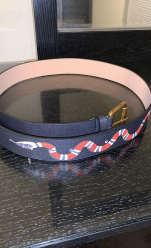 Authentic Gucci Snake Belt for Sale in San Antonio, TX