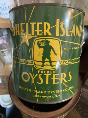 Shelter Island Oyster can for Sale in Mount Airy, MD
