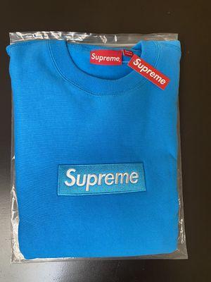 Supreme Box Logo Crewneck Bright Royal for Sale in Orlando, FL