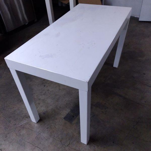White Acrylic Desk