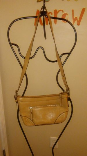 Leather Coach bag for Sale in Harper Woods, MI