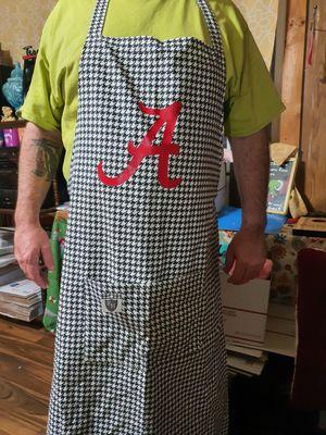 Alabama houndstooth apron for Sale in Eastaboga, AL