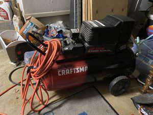 Craftsman 45 g compressor for Sale in San Antonio, TX