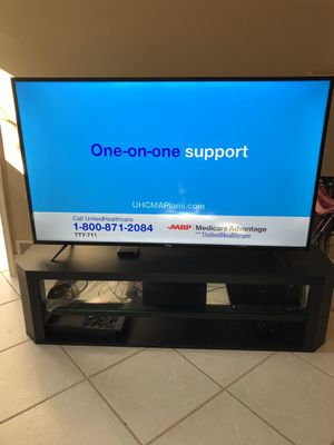 """65"""" TCL Roku tv with stand for Sale in Penndel, PA"""