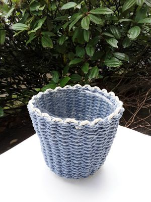 "5"" Woven Basket Flower Pot for Sale in Lacey, WA"
