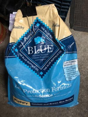 Dog food ( BLUE ) for Sale in Perris, CA
