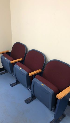 Cloth theater seats for Sale in Laurel, MD