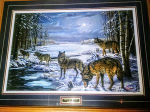 Moonlight Crossing by Mary Pettis Signed and Numbered for Sale in East Gull Lake, MN