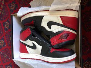 Jordan 1 Bred Toe for Sale in San Diego, CA