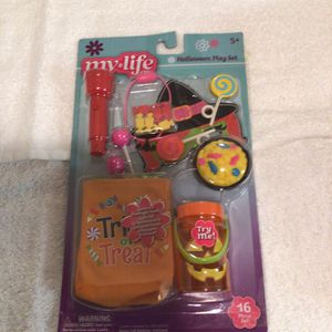 My Life Halloween Play set Light Up And Has 16 Pieces Never Opened for Sale in San Jose, CA
