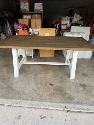 Commercial table all Wood 40x78 for Sale in Los Angeles, CA