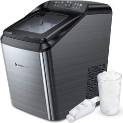 Dreamiracle Ice Maker Machine for Countertop, 33 lbs Bullet Ice Cube in 24H, 9 Ice Cubes Ready in 7-10 Minutes, 2.8L Ice Maker Machine with Ice Scoop for Sale in Stanley,  NY