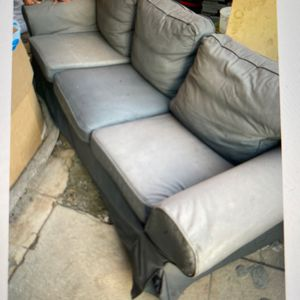 IKEA Sofa Grey And beige covers for Sale in Los Angeles, CA