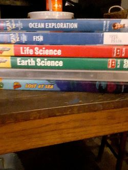 lot of 6 Educational DVDs inc. Bill Nye for Sale in Orlando,  FL