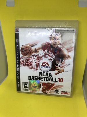 PS3 NCAA Basketball 10 Sony PlayStation 3 Complete Tested Fast Shipping! for Sale in Atlanta, GA