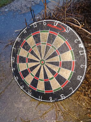 Cork Dart Board Game with Metal Numbers for Sale in Aloha, OR